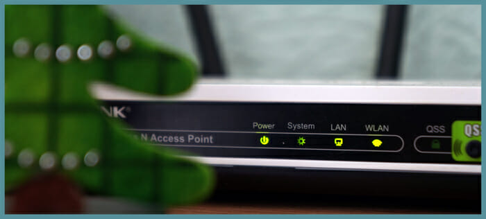 WiFi connects your device to a broadband network via a local access point such as a home router