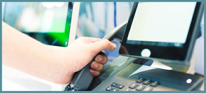 SChool telephone communication system handset