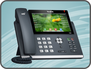 Yealink SIP phone system with multimedia capabilities