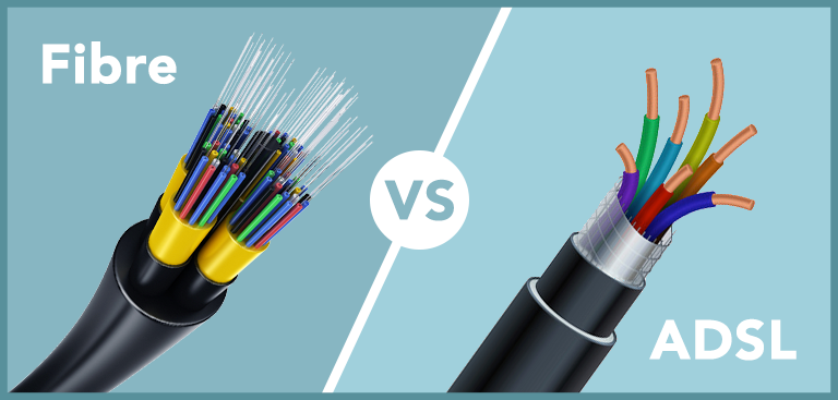 Full fibre broadband cables vs ADSL copper wires